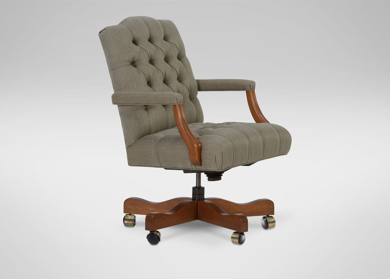 Grant Desk Chair Chairs Ethan Allen Magroupco