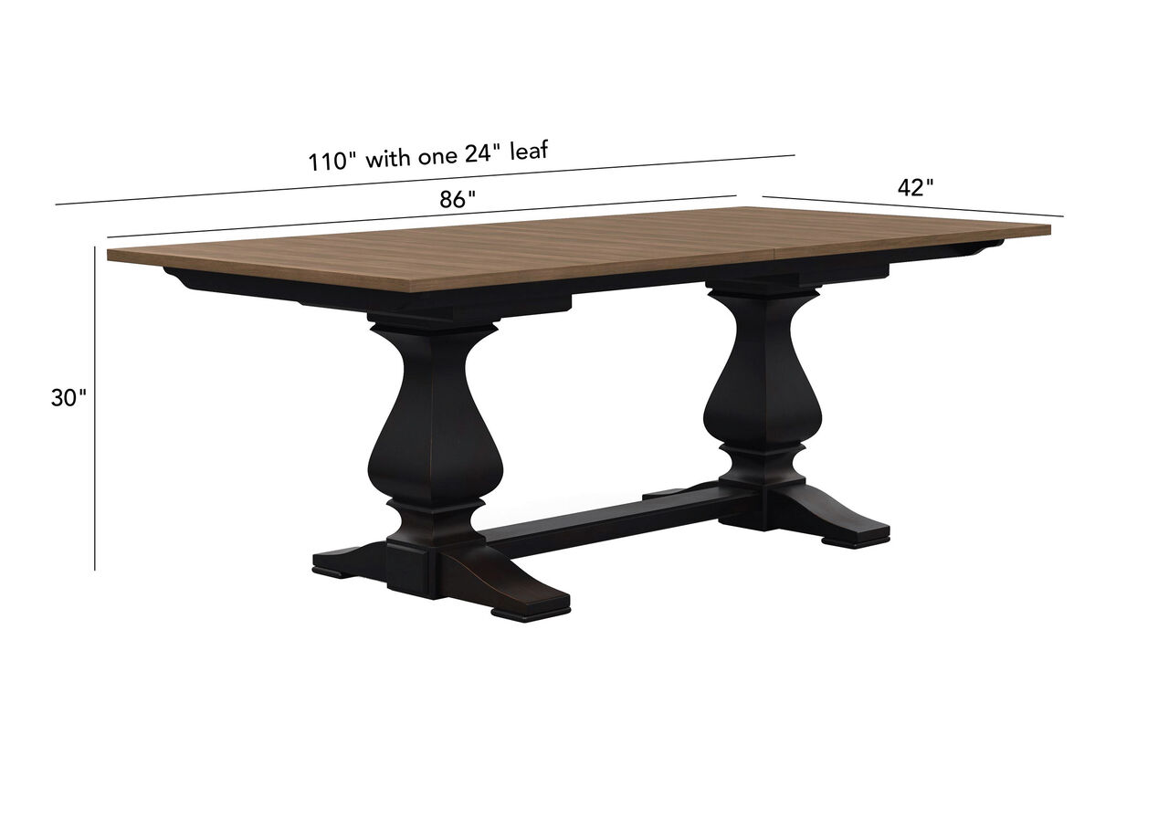 Cameron Extension Dining Table Dining Room Tables Ethan Allen