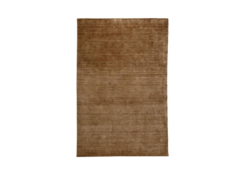 Loomed Wool Rug, Taupe
