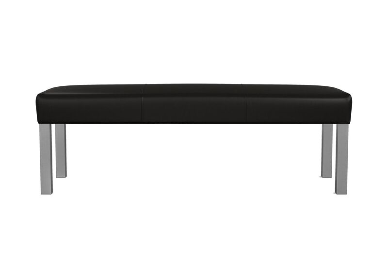 Harbor Leather Bench ,  , large_gray