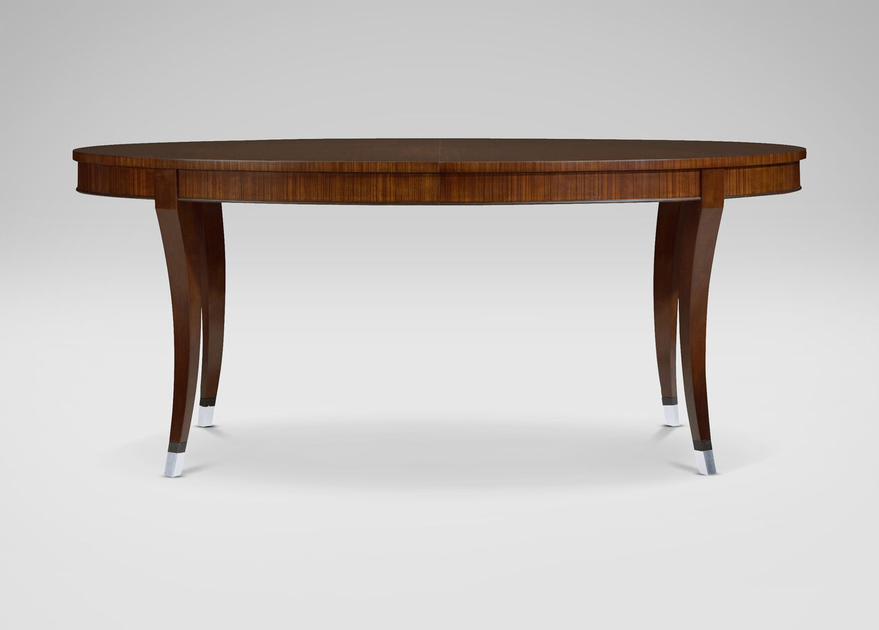 Hathaway dining table dining tables ethan allen for Shopping for dining tables