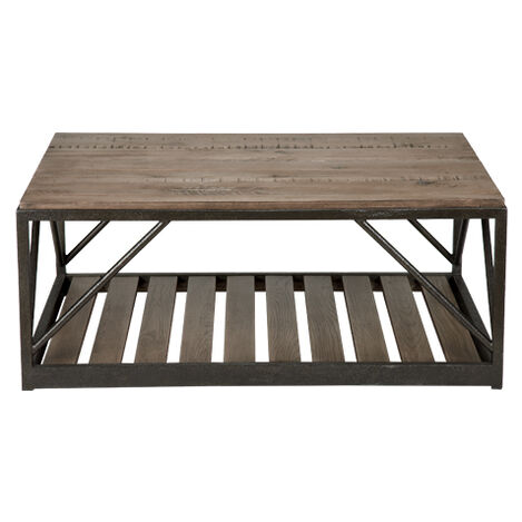 Beam Metal Base Coffee Table ,  , large