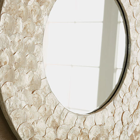 Kailani Capiz Mirror Product Tile Hover Image 074084