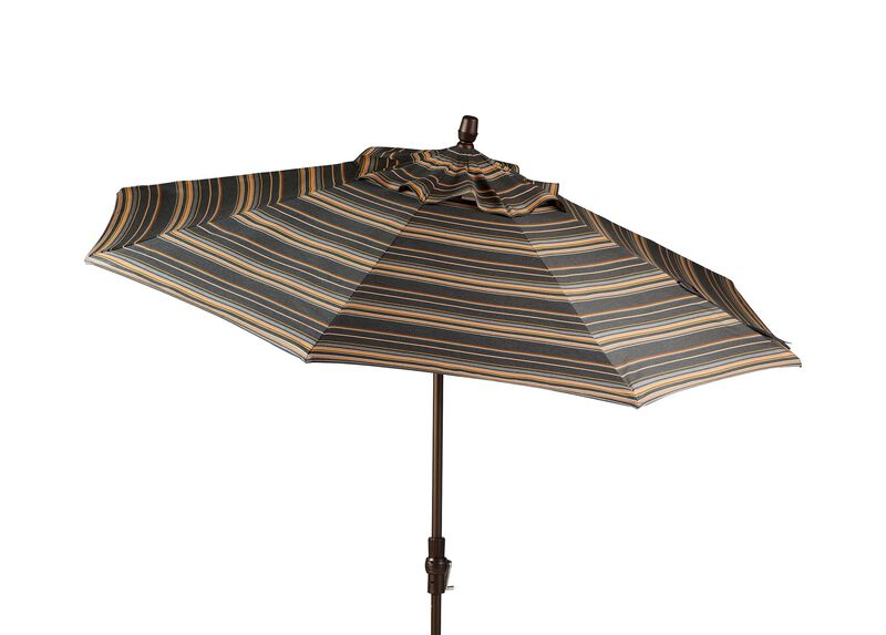 Greystone Round Market Umbrella ,  , large_gray