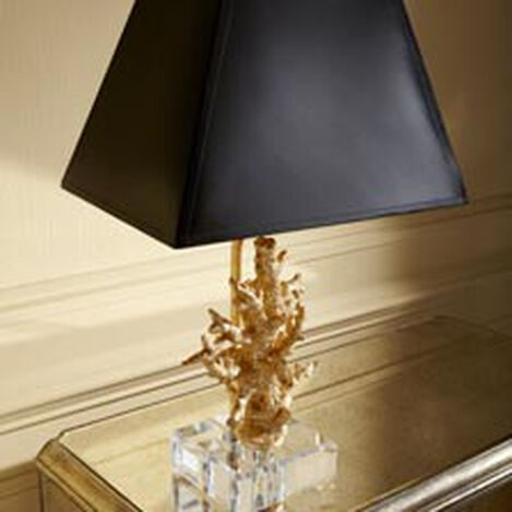 Gold Coral Accent Lamp ,  , hover_image
