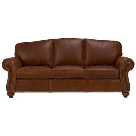 Whitney Leather Sofa ,  , large