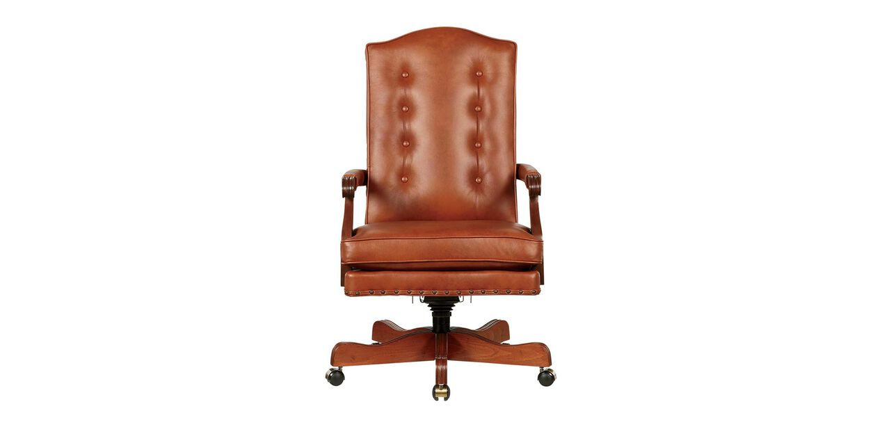High Back Chair Executive Leather Chair Ethan Allen
