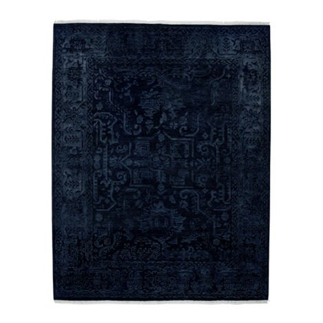 Heriz Deconstructed Rug, Navy Product Tile Image 041523