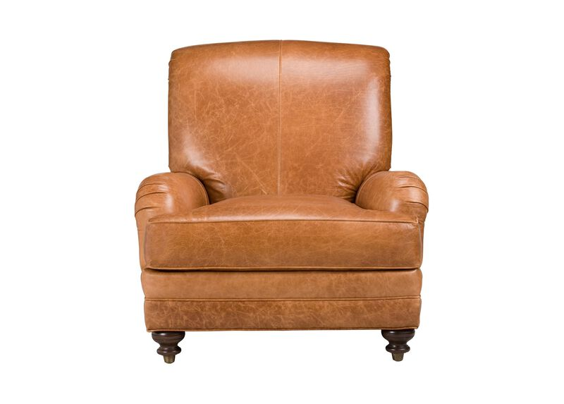Whitfield Leather Chair ,  , large_gray