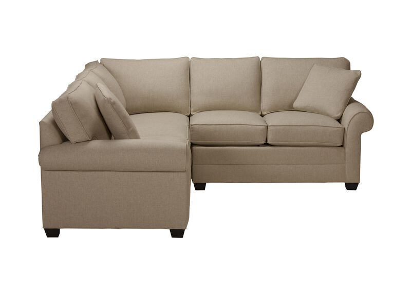 Bennett Three Piece Sectional, Quick Ship , Palmer Oyster (Q3033), chenille , large_gray