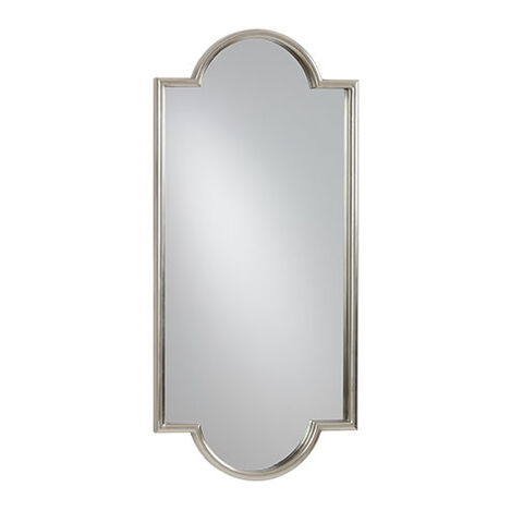 Jayne Silver Leaf Mirror Product Tile Image 074093