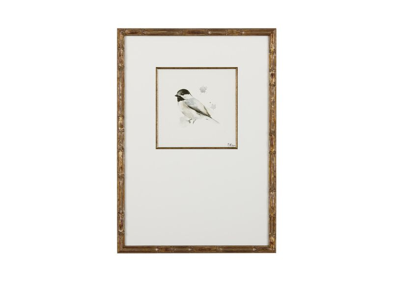 Watercolor Bird III