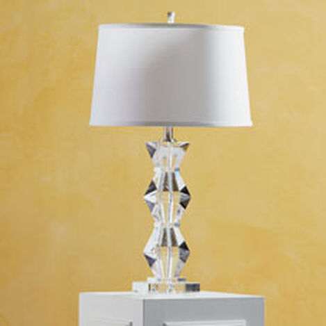 Geometric Crystal Table Lamp ,  , hover_image