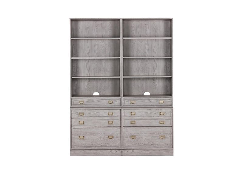 Callum Double File Bookcase ,  , large_gray