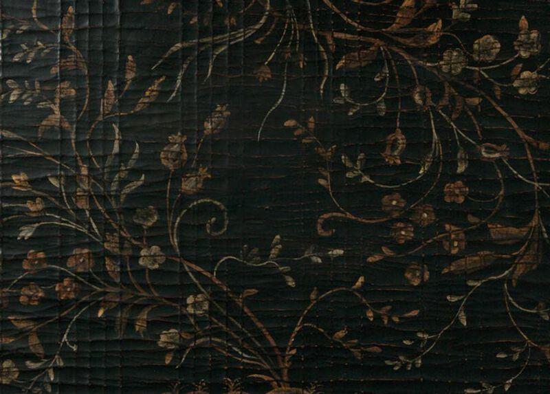 Black Chinoiserie (532) Finish Sample