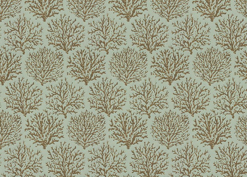 Coraline Seafoam Fabric by the Yard