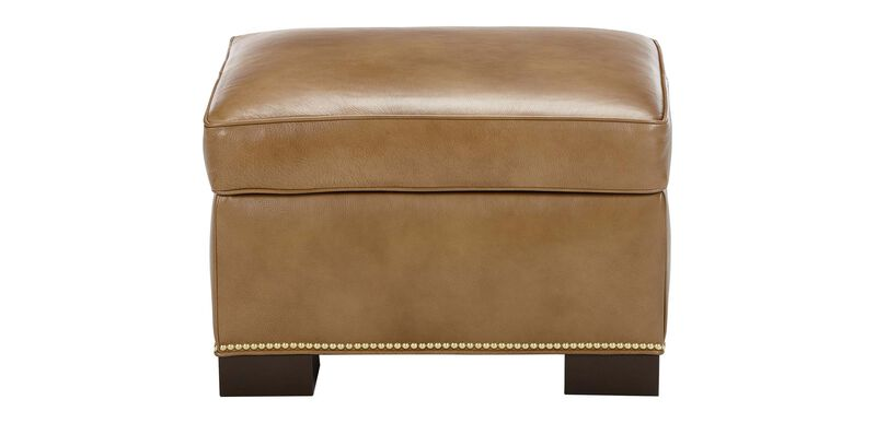 Astor Leather Ottoman ,  , large_gray