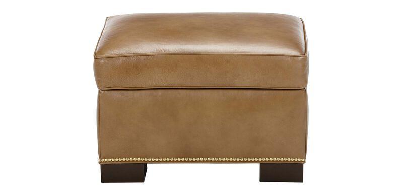 Astor Leather Ottoman ,  , large_gray