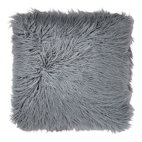 Faux Fur Pillow, Mineral ,  , large