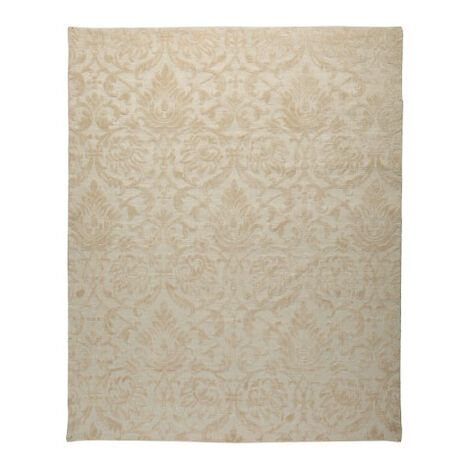 Jacquard Damask Rug, Ivory Product Tile Image 041249