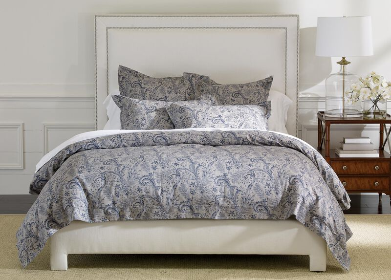 Lorelle Paisley Duvet Cover and Shams ,  , large_gray