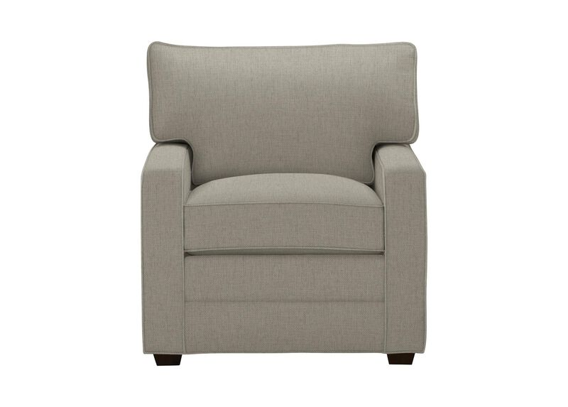 Bennett Track-Arm Chair, Quick Ship , Hailey Slate (Q1054), solid texture , large_gray
