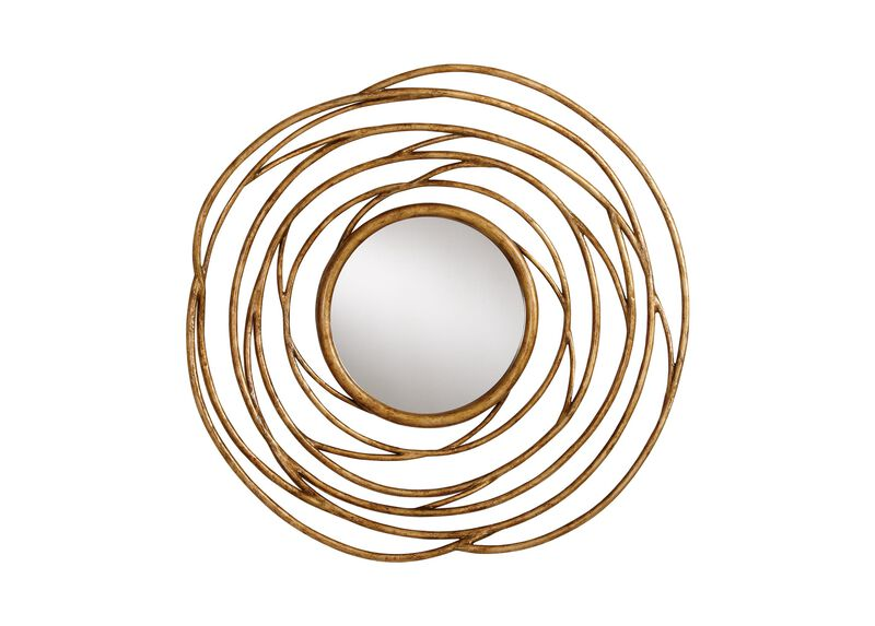 Spiral Twig Mirror ,  , large_gray
