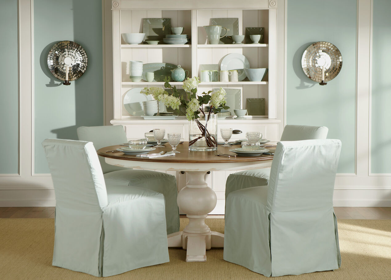slipcovered dining chairs. Sebago Slipcovered Dining Chair , Alt Chairs