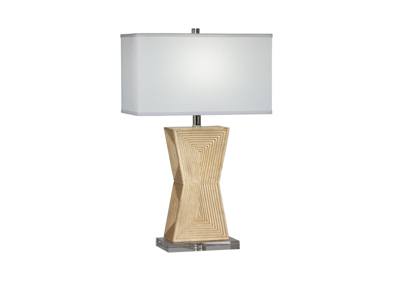 Saxon Geometric Table Lamp
