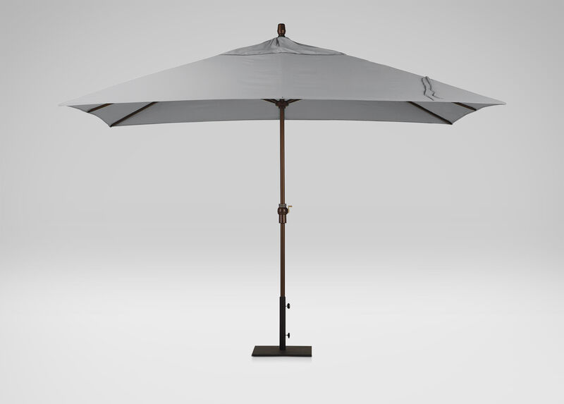 Ash Rectangular Market Umbrella, Onyx ,  , large_gray