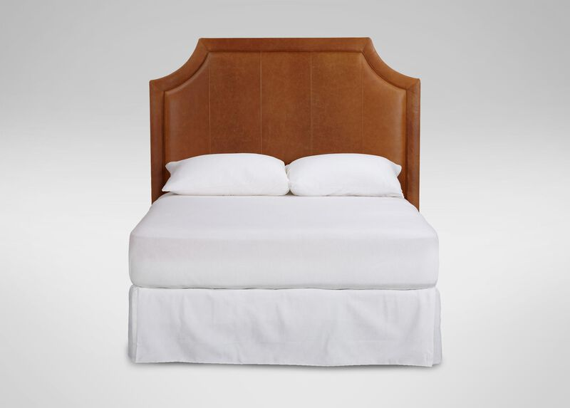 ethan allen headboards alison leather headboard beds 11518