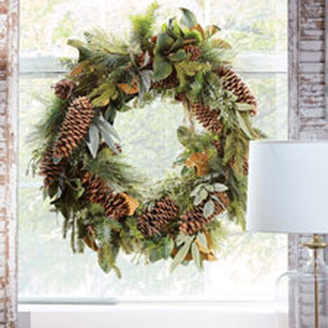 """42"""" Pine Wreath Product Tile Hover Image 442237"""