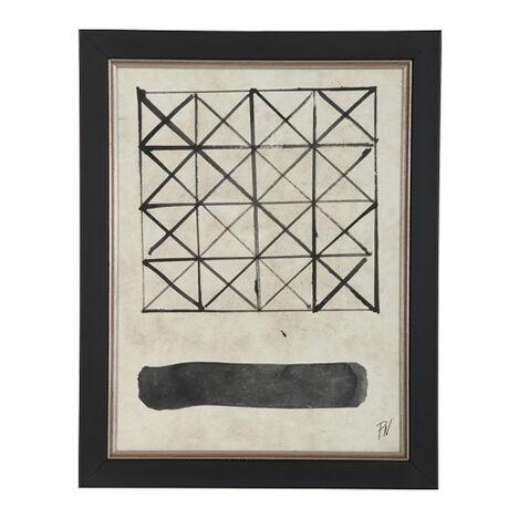Black and White Graphic IX ,  , large