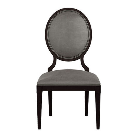 Lindsay Leather Side Chair ,  , large
