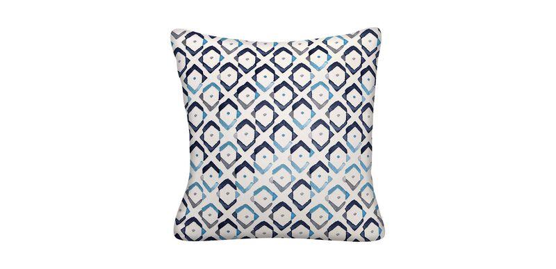Collins Indigo Outdoor Pillow