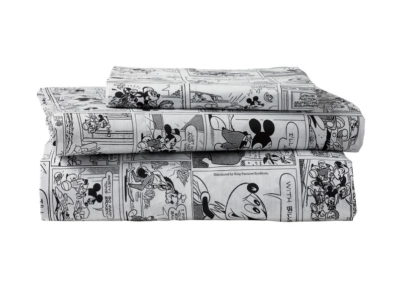 Mickey Mouse Comic Strip Sheet Set, Mickey's Ears