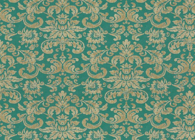 Kira Turquoise Fabric