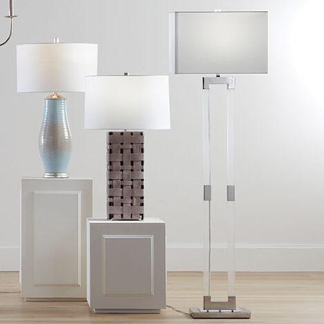 Lidya Acrylic Floor Lamp Product Tile Hover Image 092172