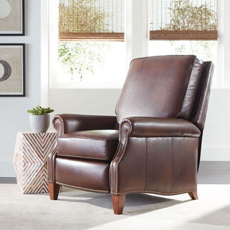 Colburn Leather Recliner, Omni/Brown Product Tile Hover Image 837943ML7877