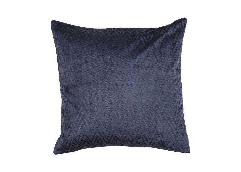 Chevron Velvet Pillow ,  , large_gray