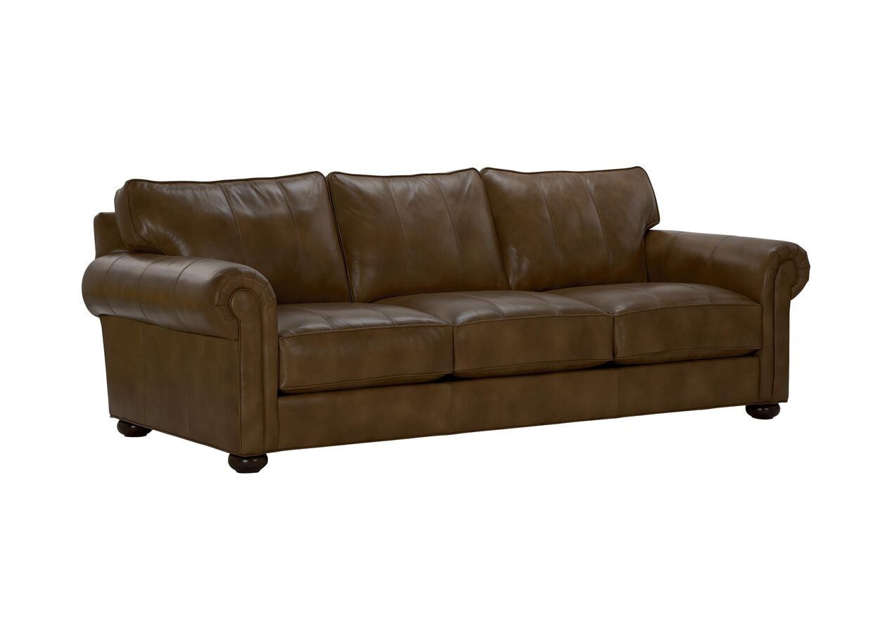 Richmond Leather Sofa Sofas Amp Loveseats Ethan Allen