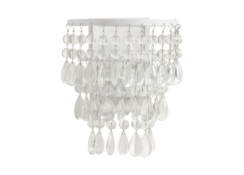 Boho Beaded Wall Sconce