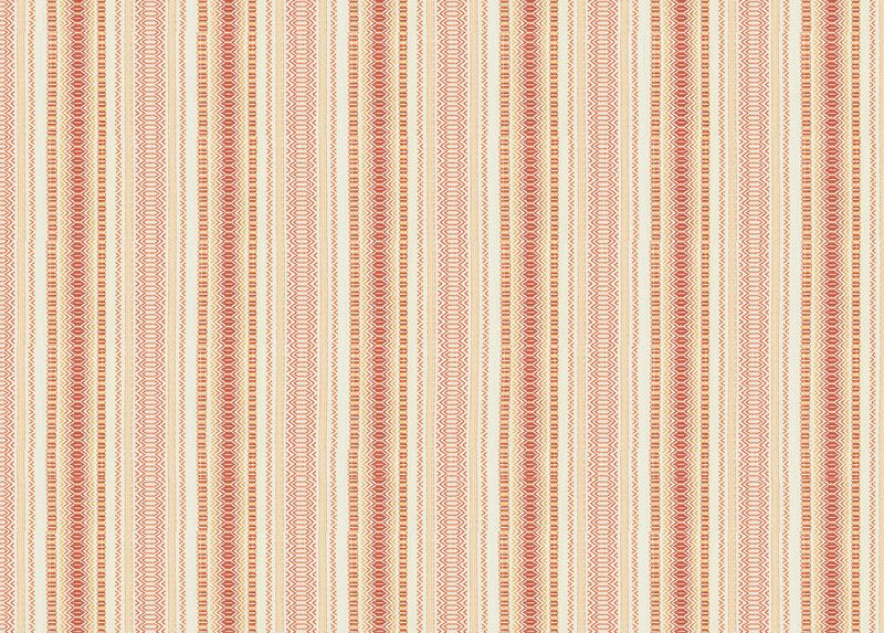 Dryden Coral Fabric by the Yard