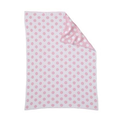 Dotty Stroller Blanket, Petal ,  , hover_image