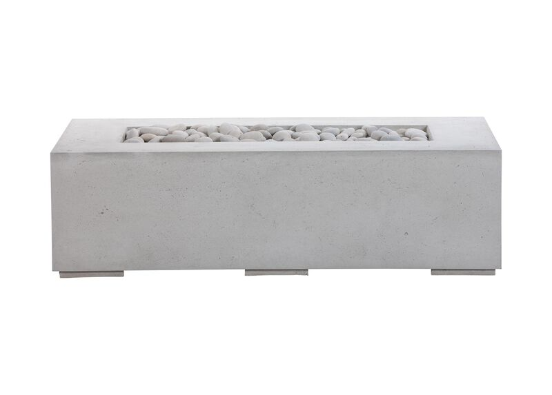 Rectangular Concrete Fire Table