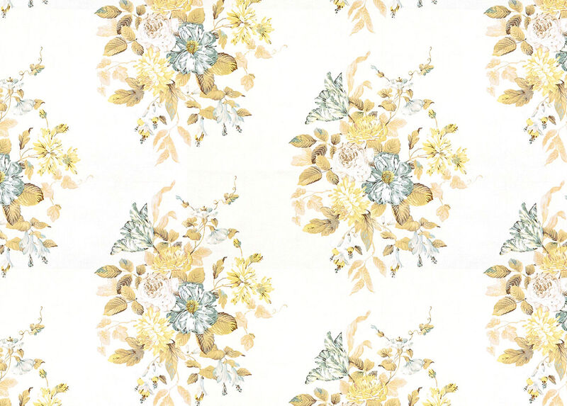 Rossina Pearl Fabric by the Yard