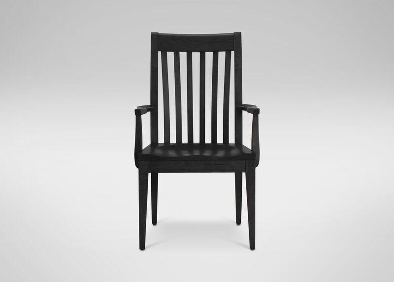 Teagan Wood-Seat Armchair at Ethan Allen in Ormond Beach, FL | Tuggl