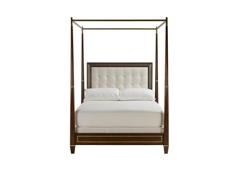 Andover Upholstered Four Poster Bed Ethan Allen Ethan