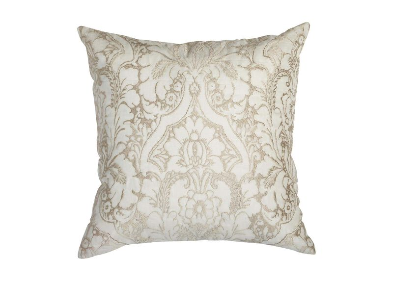Embroidered Sheer Pillow