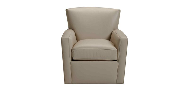 Turner Leather Swivel Chair